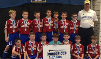 U10 Boys White Academy Team Finish As Finalists At The 2015 Indoor State Cups