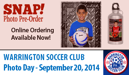 Warrington Soccer Photo Day - September 20, 2014
