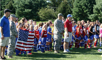 Soccer 4 Soldiers 4 v 4 Soccer Festival - Saturday, August 23rd